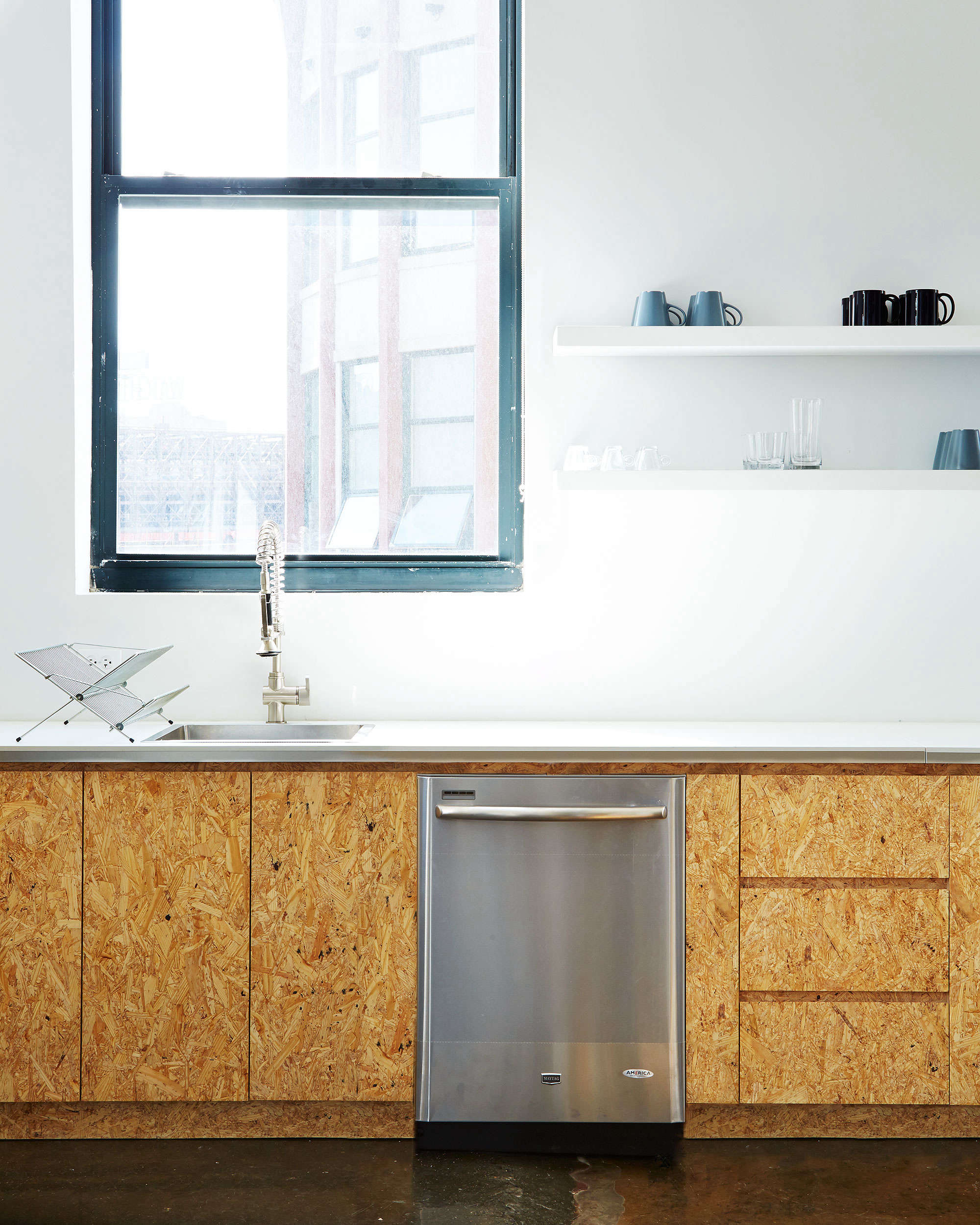 Chipboard Kitchen Cabinets Kitchen Of The Week The Stylishly Economical Kitchen Chipboard