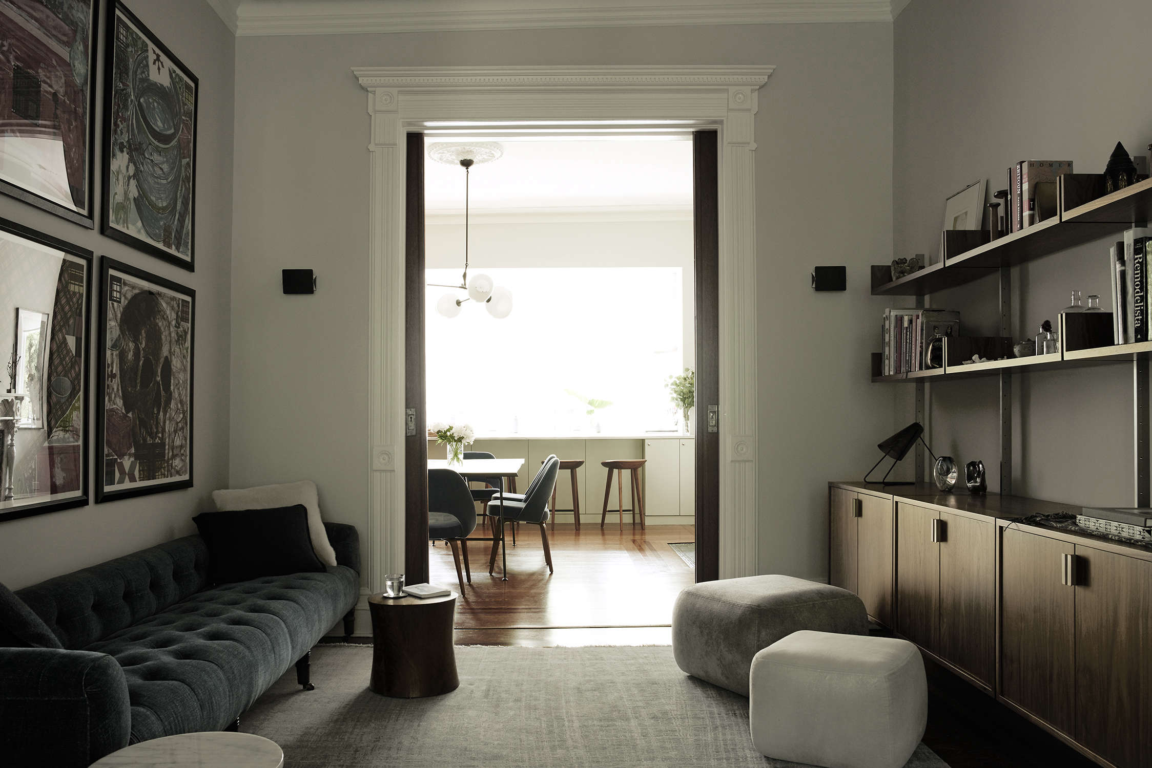 Brooklyn townhouse parlor remodel by Bangia Agostinho Architecture and Suzanne Shaker | Remodelista