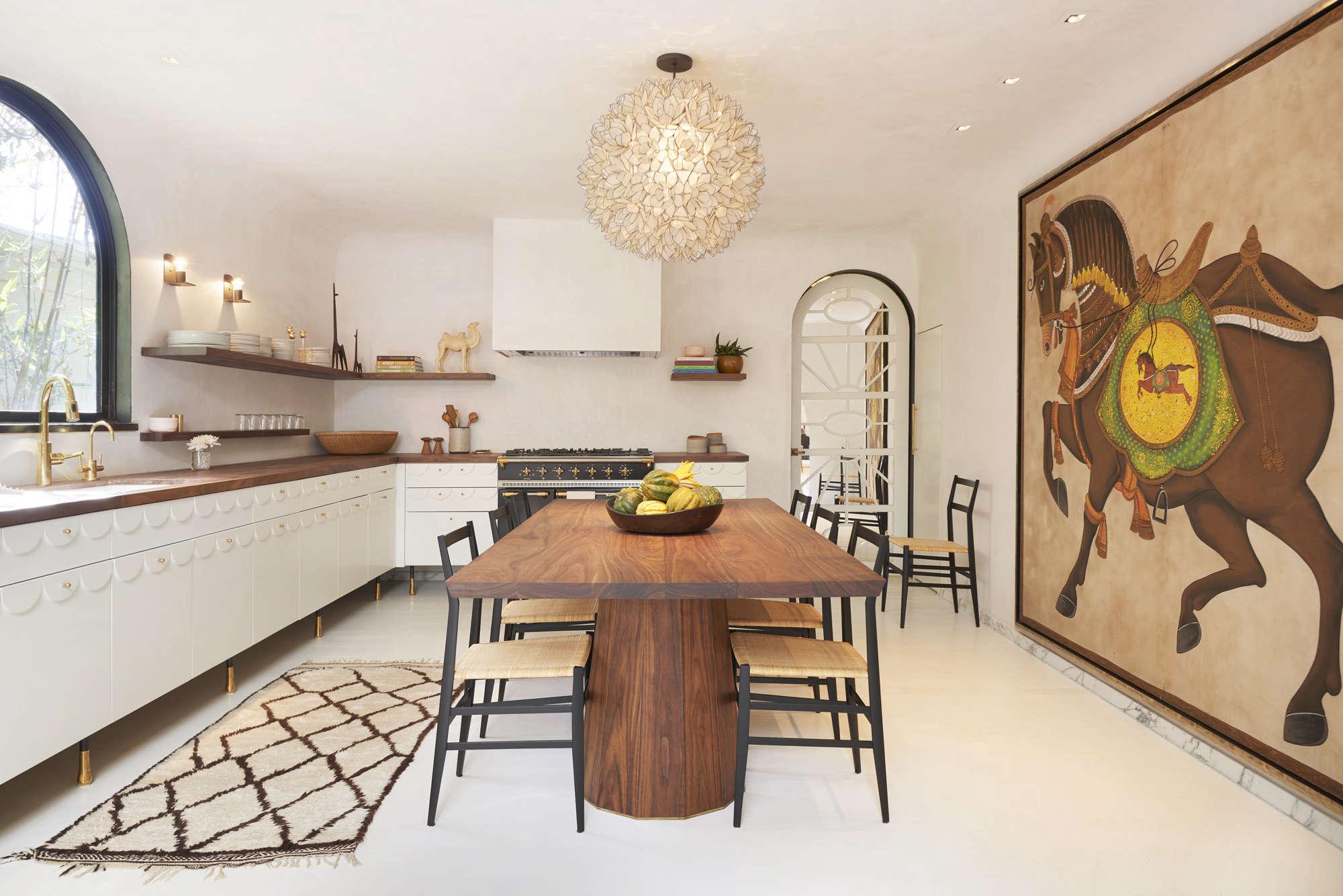 Kitchen of the Week: Irene Neuwirth's Glamorous LA Kitchen by ...