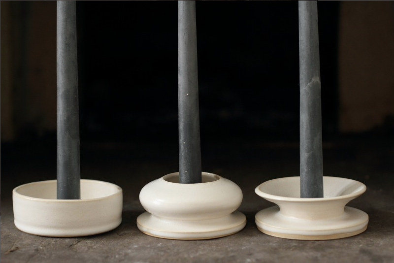 Kelli Cain candle holders