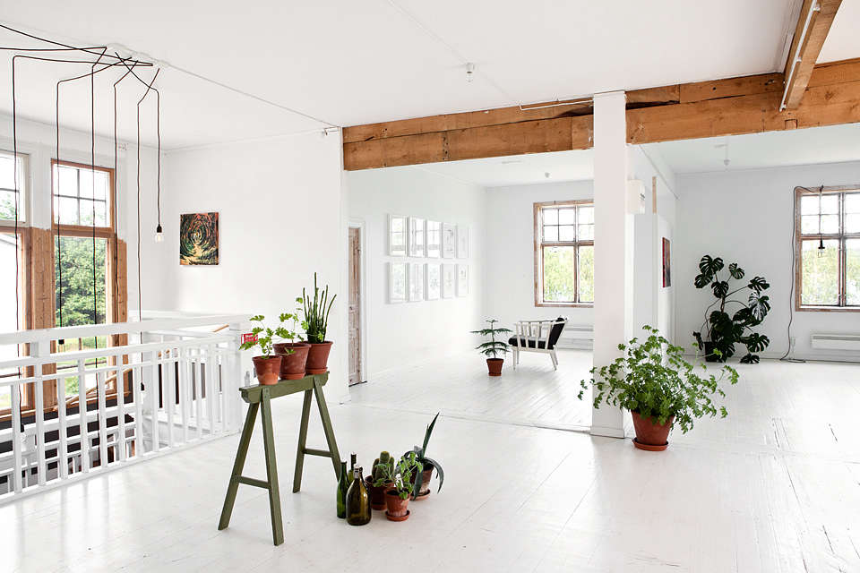Sågverket, a stylish country hostel and retreat center on the coast near Härnösand in Northern Sweden | Remodelista