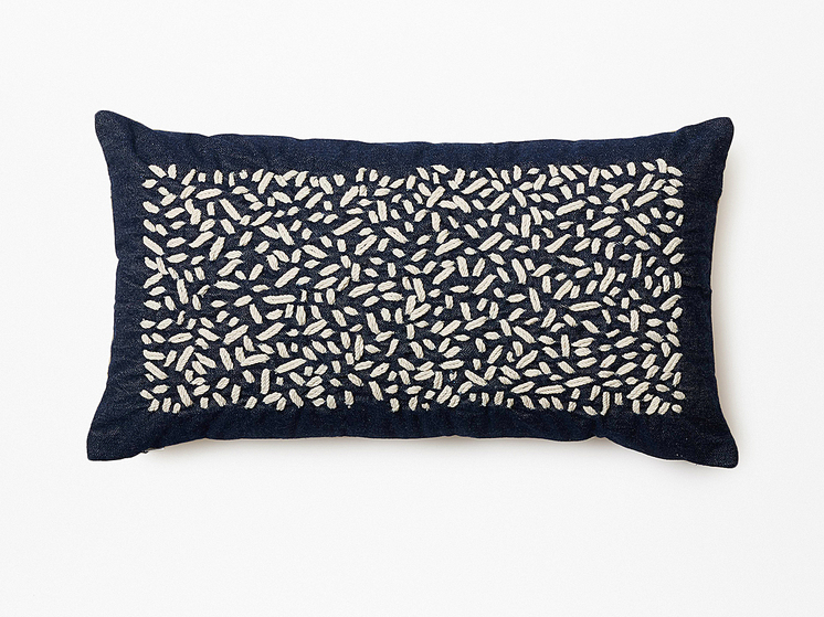 Thompson Street Studio embrpoidered pillow 2