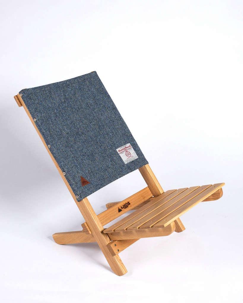 A Native Lounge Chair Harris Tweed Remodelista