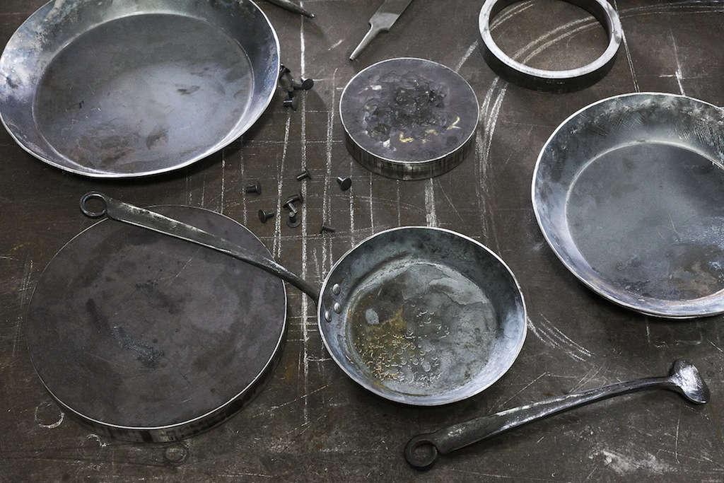 A Lighter Alternative to Cast Iron Pans HandForged in Seattle portrait 3