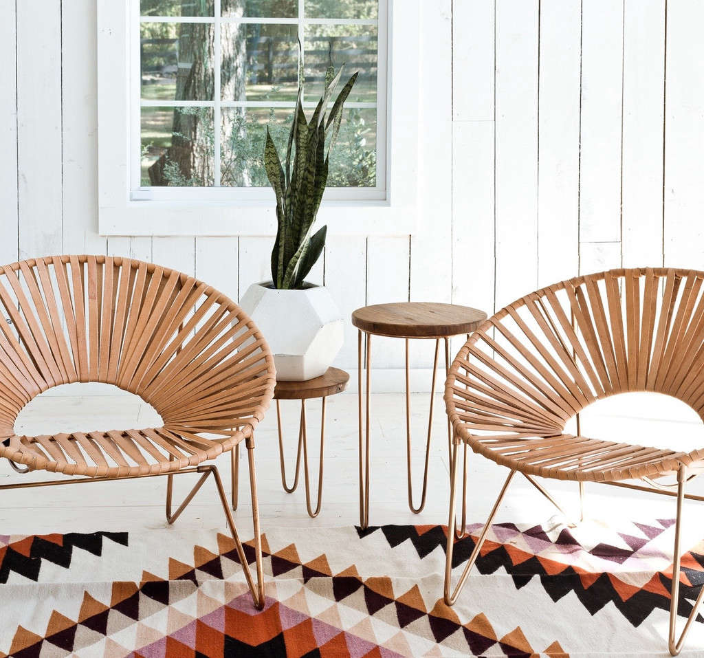 Aldama Chair Copper Amp Natural Remodelista