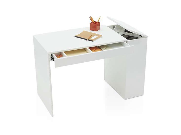 crate-and-barrel-treble-white-desk-remodelista