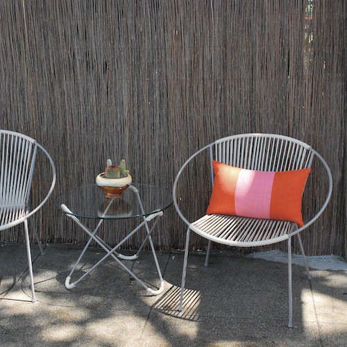 Attrayant Above: Mexicou0027s Answer To The Bucket Chair, A Concha Chair By Innit Has A  Galvanized Steel Frame And Vinyl Cording Treated To Resist UV Rays; $364.99  From ...