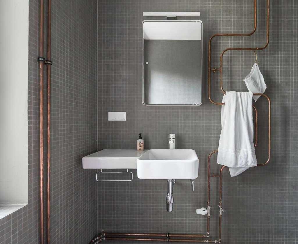 Steal This Look Industrial Berlin Bathroom Remodelista