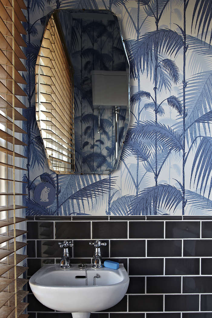 Trend alert tropical prints made modern remodelista for Bathroom designs london