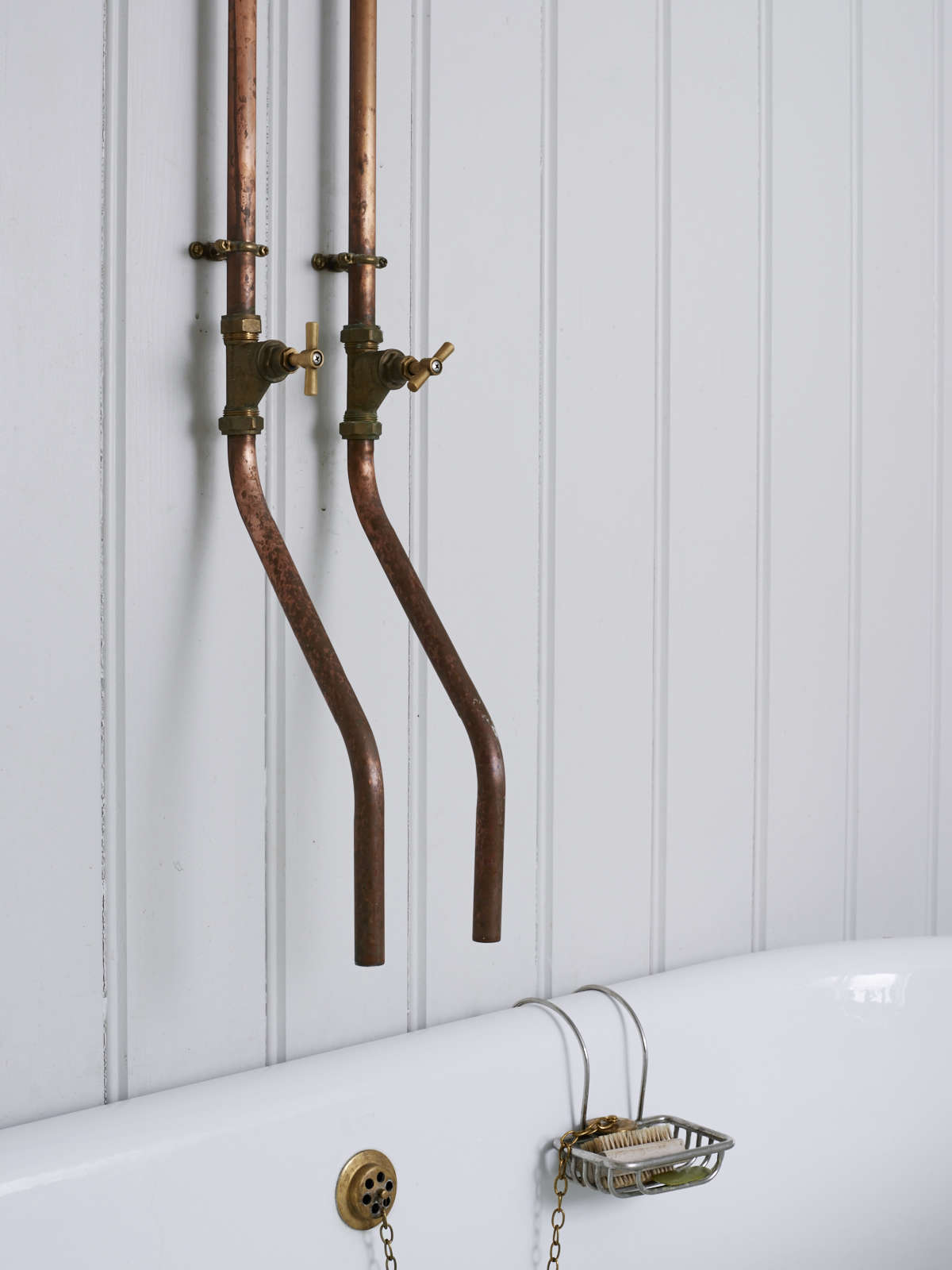 30 Perfect Copper Bathroom Fixtures | eyagci.com