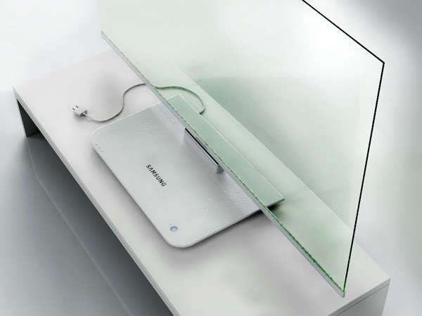 Samsung Transparent TV | Remodelista