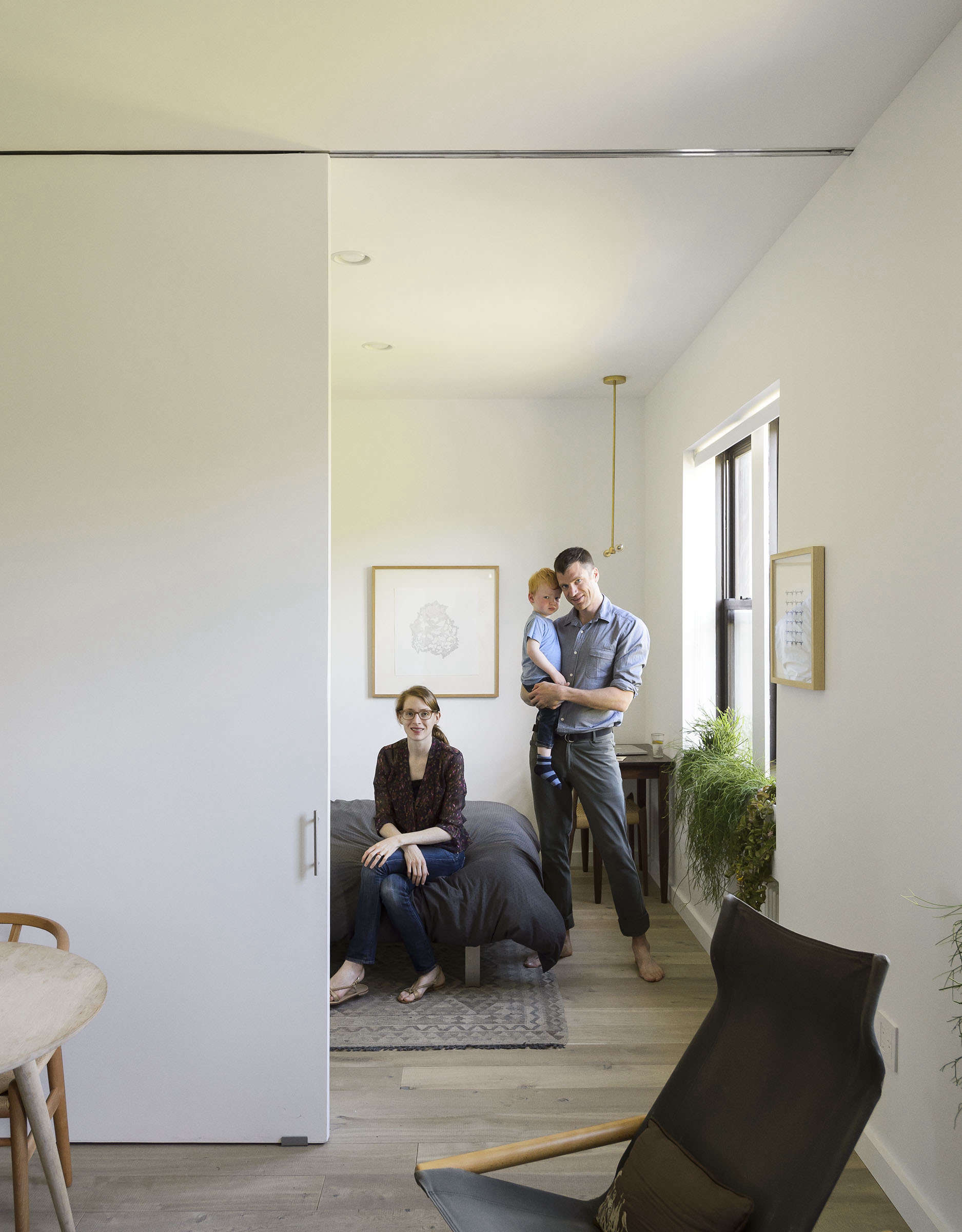 Standout Small Apartment Remodel For A Family Of Four Jacqueline Schmidt And David Friedlanders