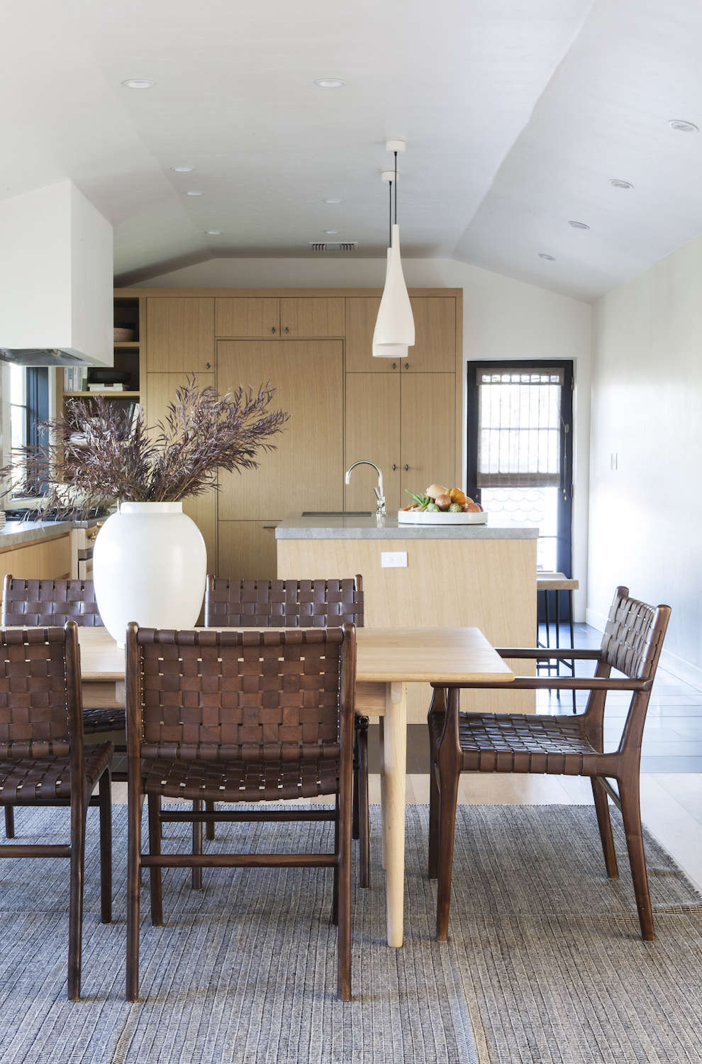 A spanish colonial revival home transformed la edition remodelista sourcebook for the - Dining room spanish ...