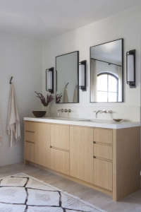 Dusty Pink Bathroom Vanity