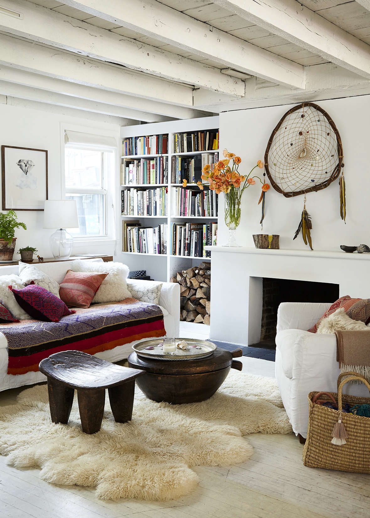 Embrace The Bright A Textile Shop Owner At Home In