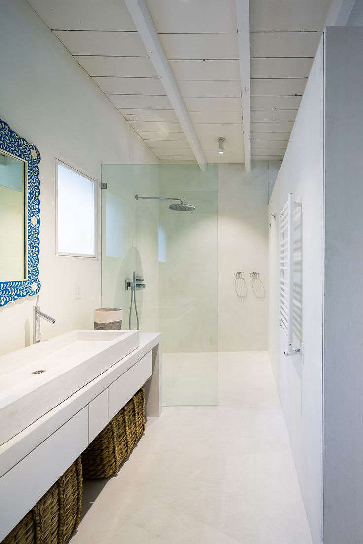 White Subway Tile Bathrooms