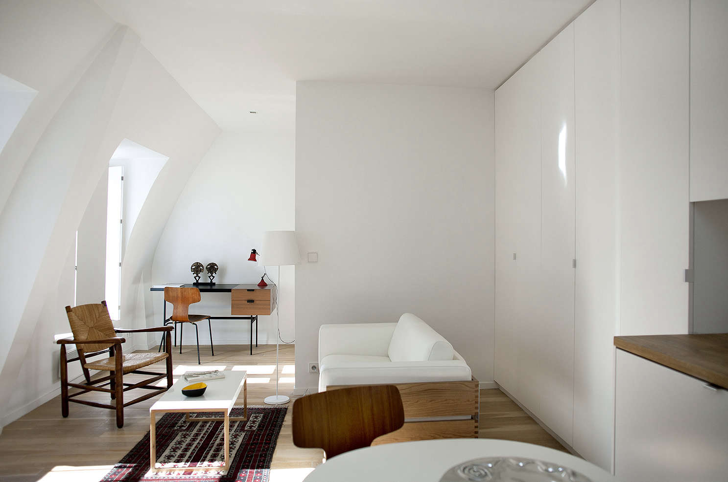The perfect two room paris pied à terre ikea kitchen included
