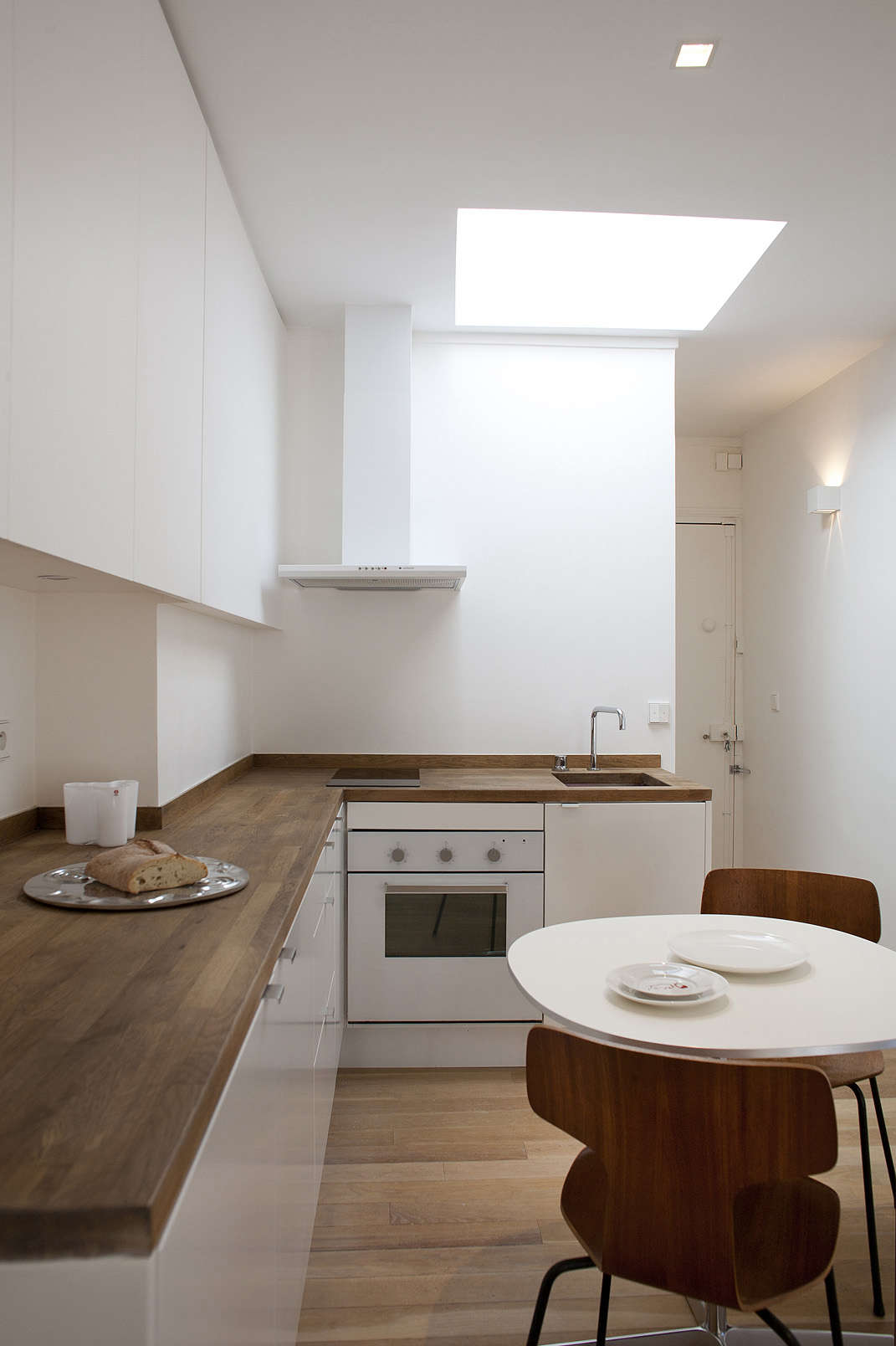 simple the perfect tworoom paris piedterre ikea kitchen