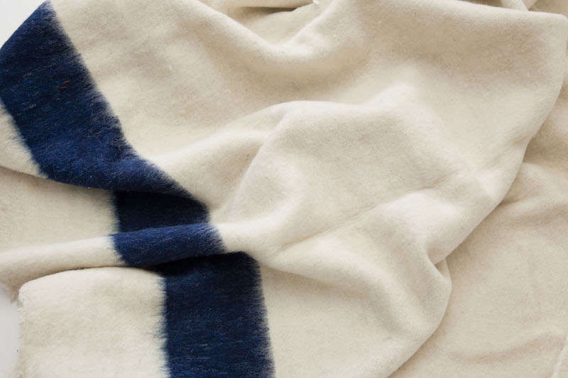 a vintage wool camp blanket from sharktooth. 10