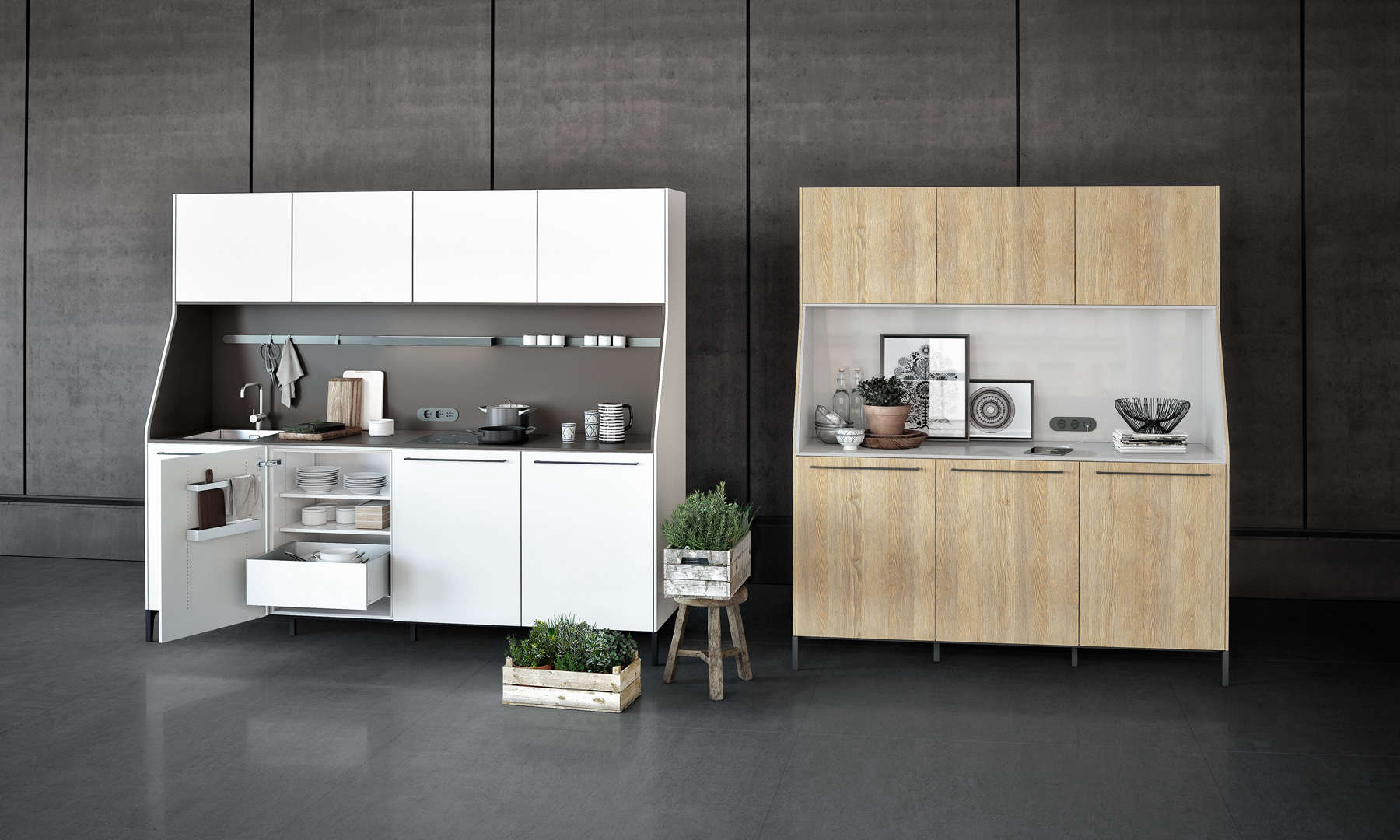 Kitchen of the week a kitchen modeled after a sideboard for Siematic kitchen design