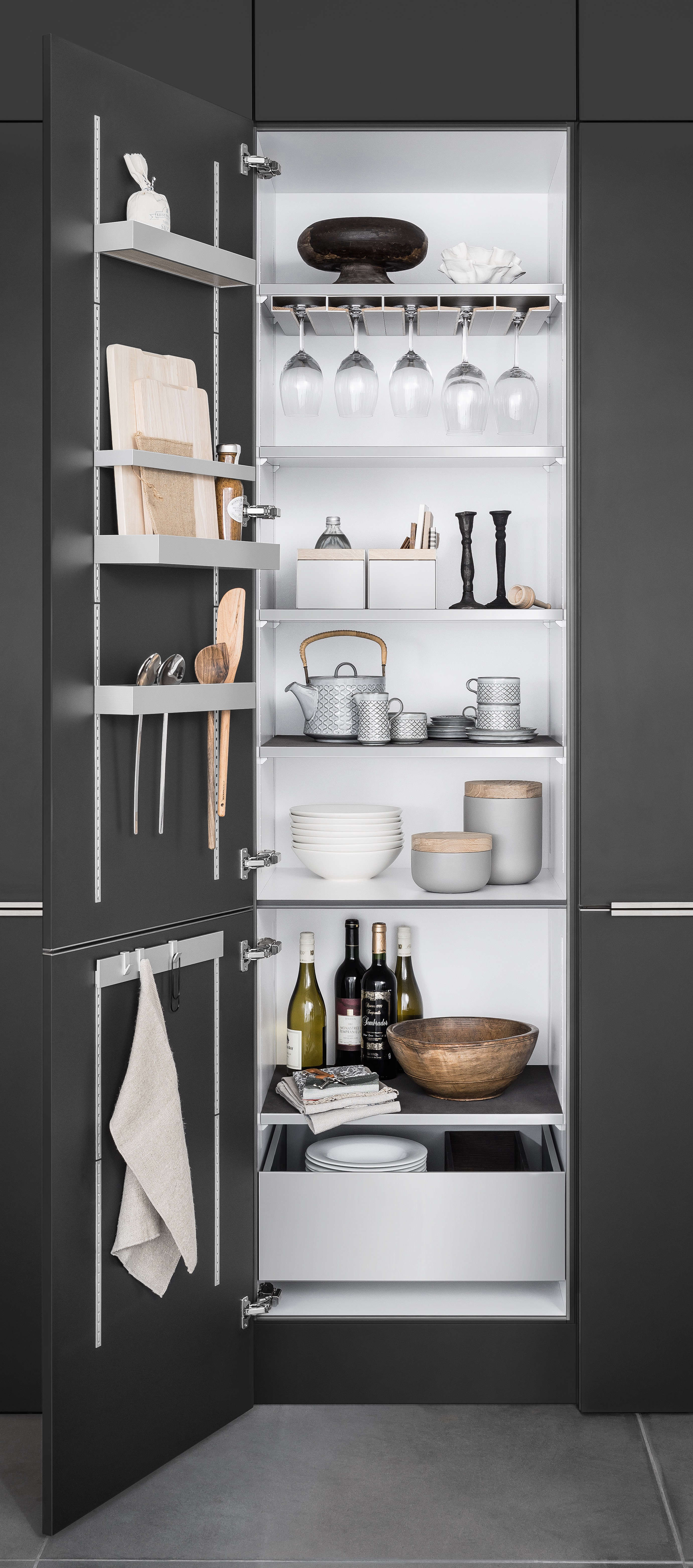 Kitchen Cabinet Storage From SieMatic Of Germany   Remodelista
