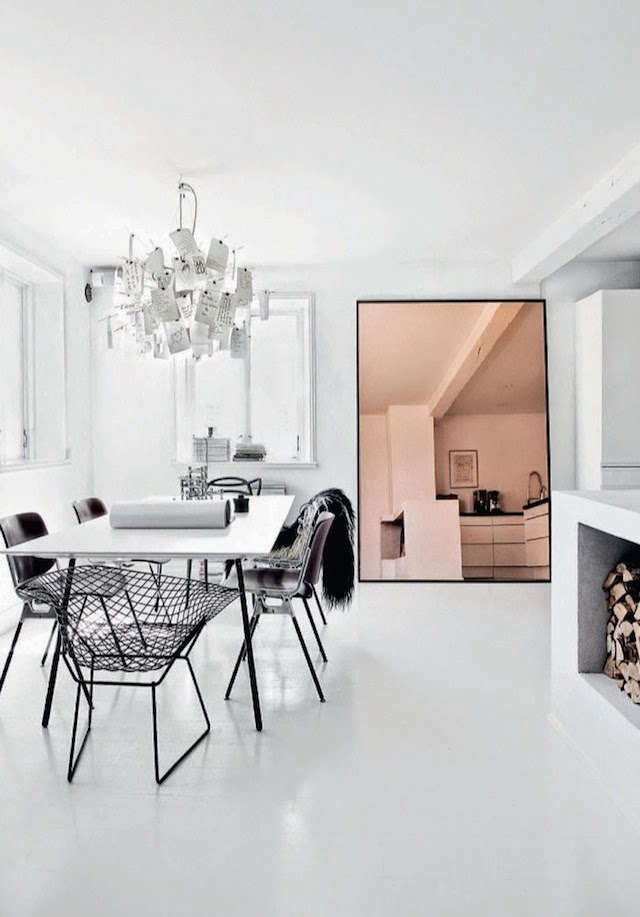 Trend alert 11 tinted decorative mirrors remodelista for H o rose dining room