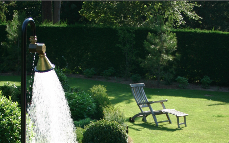 10 Easy Pieces Instant Outdoor Showers Just Add Garden