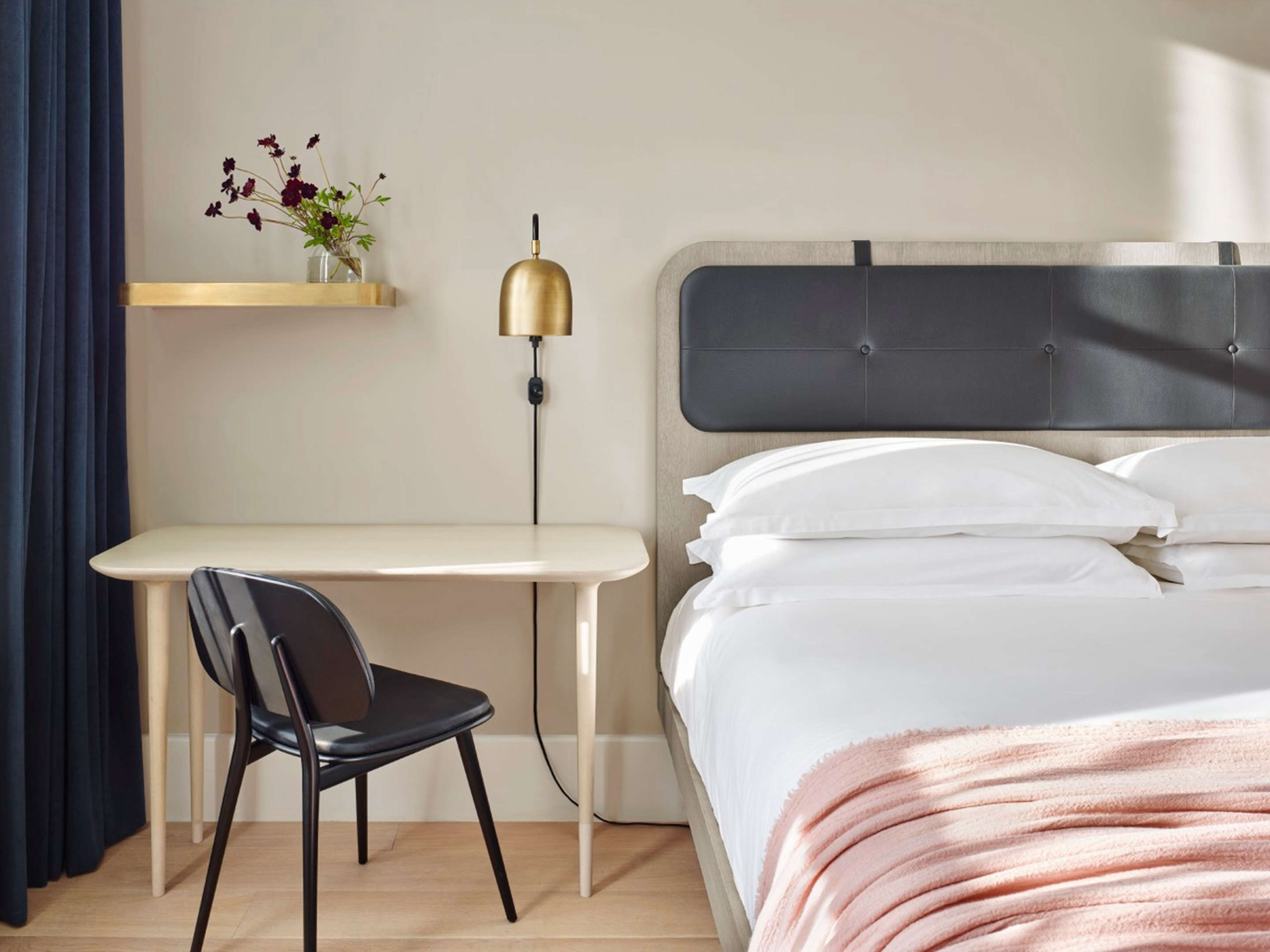 Steal This Look A Scandi Bedroom In A Soho Hotel