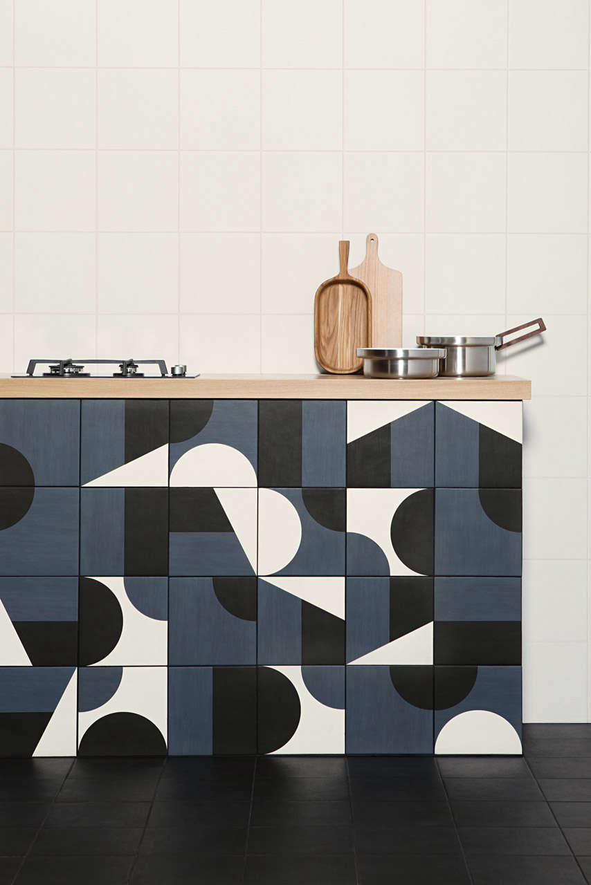 Mod customizable tiles by barber osgerby for mutina - Kitchen and dining area design crossword ...