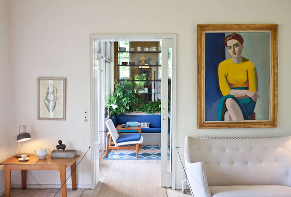 Daring Color Ideas to Steal from the Finn Juhl House in Copenhagen