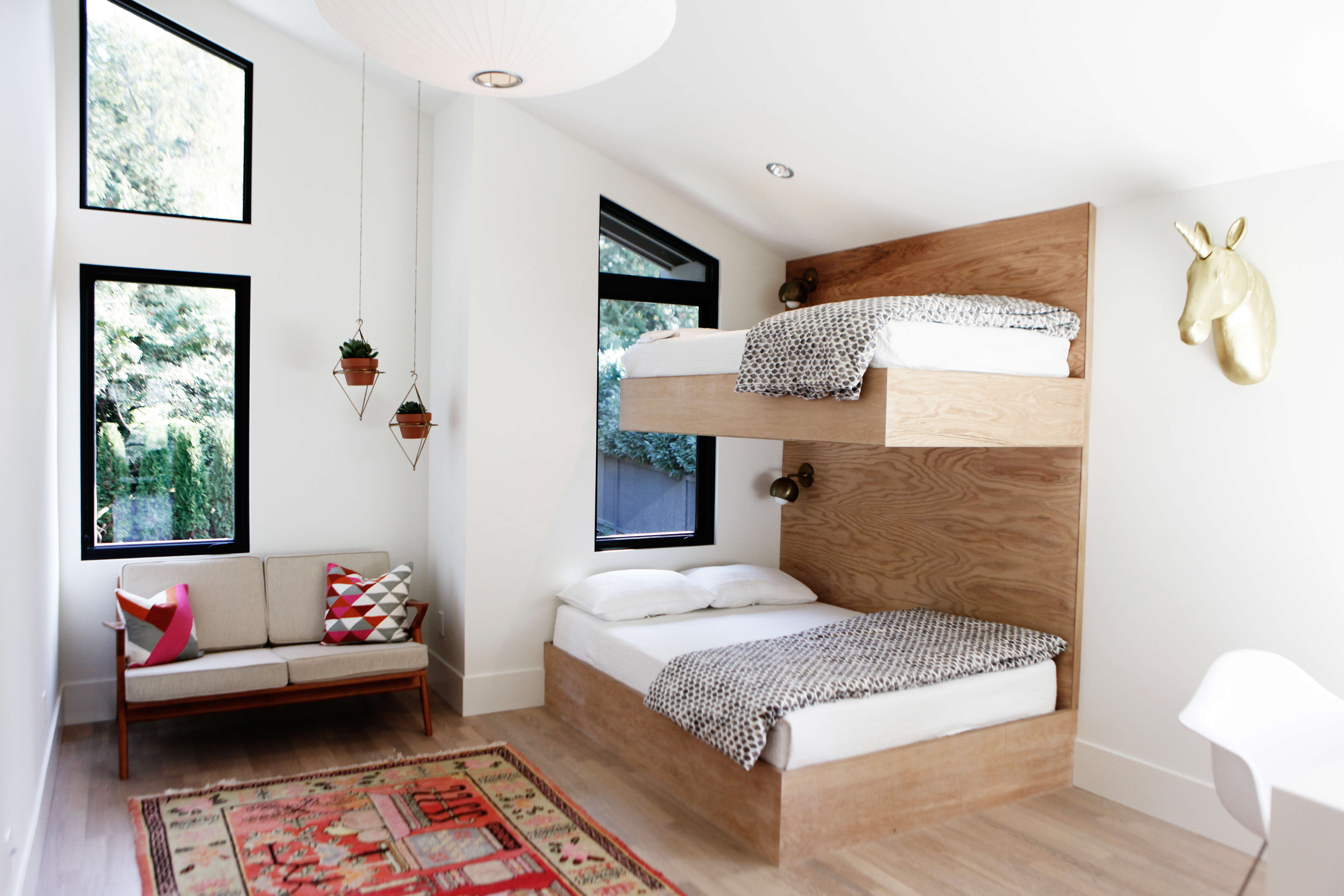 Built In Twin Bunks A Kids Room By Interior Designer Lisa Staton And