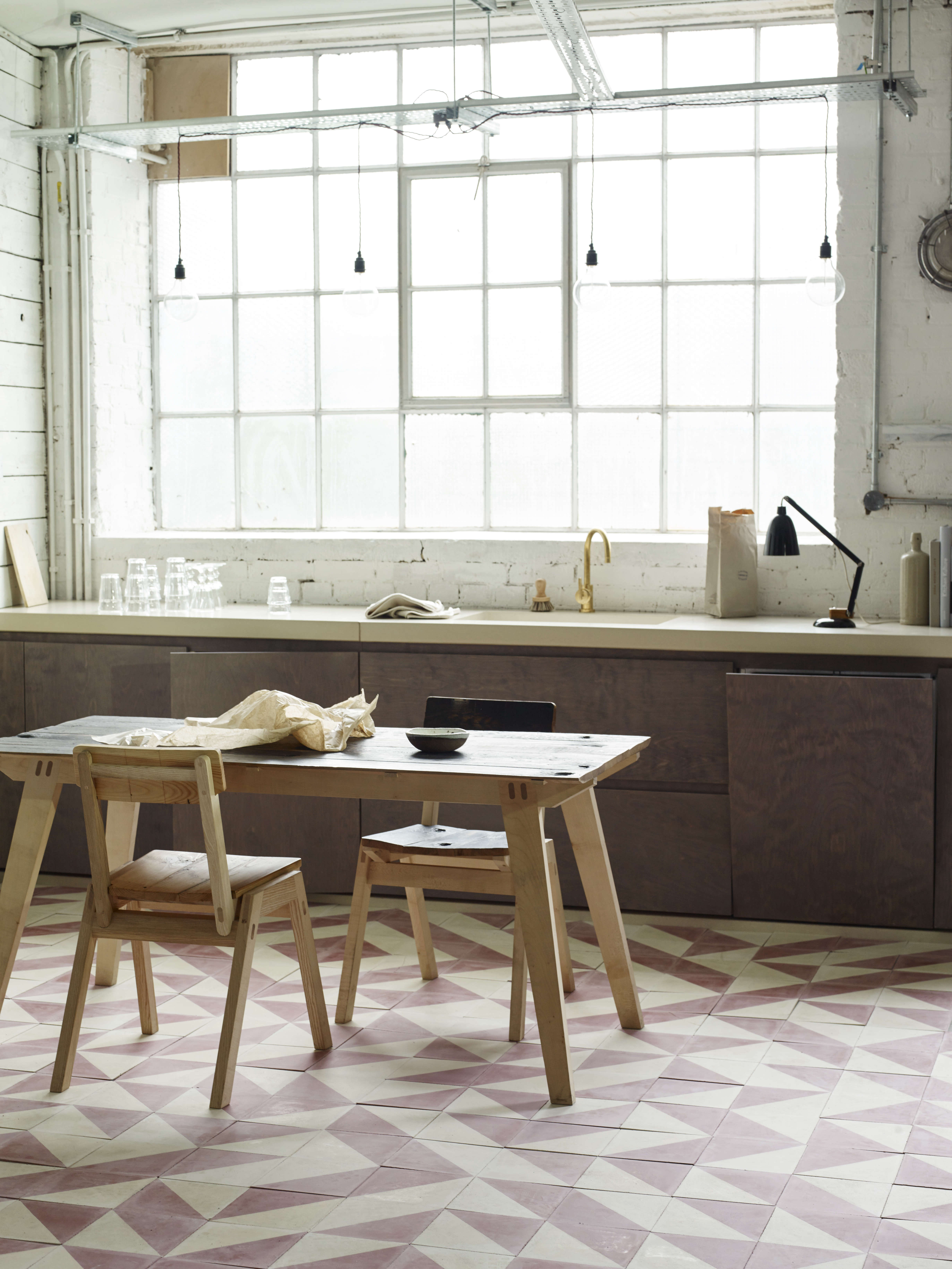 A New Kitchen Line from Bert & May Interiors in London - Remodelista