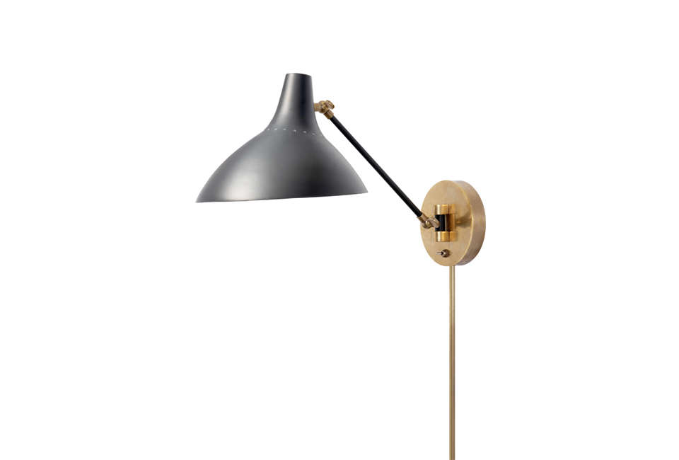 Above the charlton wall light from circa lighting comes in black