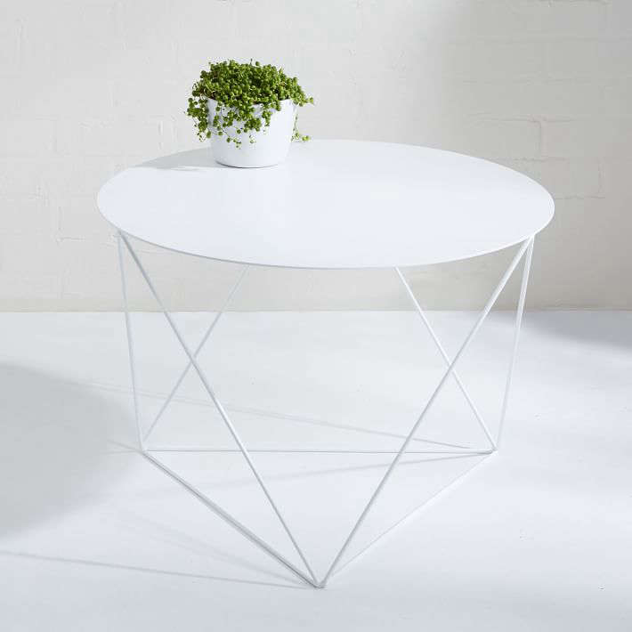 10 Easy Pieces: White Side Tables For Patio Or Porch - Gardenista