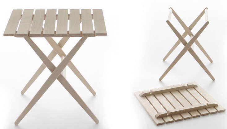 Ikea Folding Table Triangle ~ Above Ikea's PS Sankskär Outdoor Table has a removable tray top