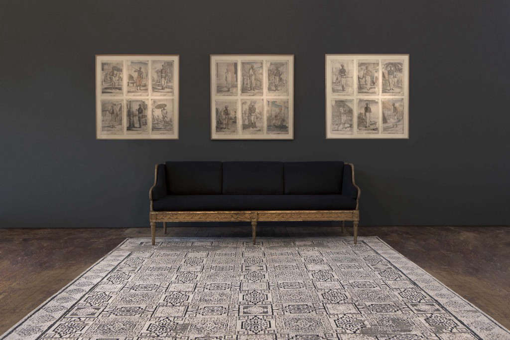 luke irwin mosaic rug