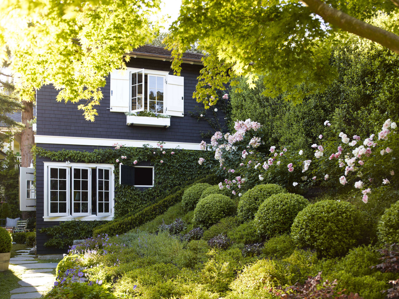 Summer Landscaping garden visit: landscaping a live-in summer camp - gardenista