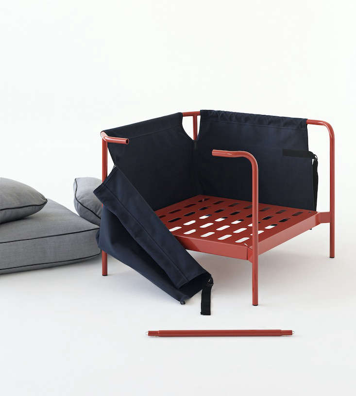 A Flat Pack Sofa Designed By The