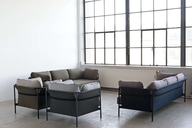 a flat pack sofa designed by the bouroullec brothers remodelista. Black Bedroom Furniture Sets. Home Design Ideas