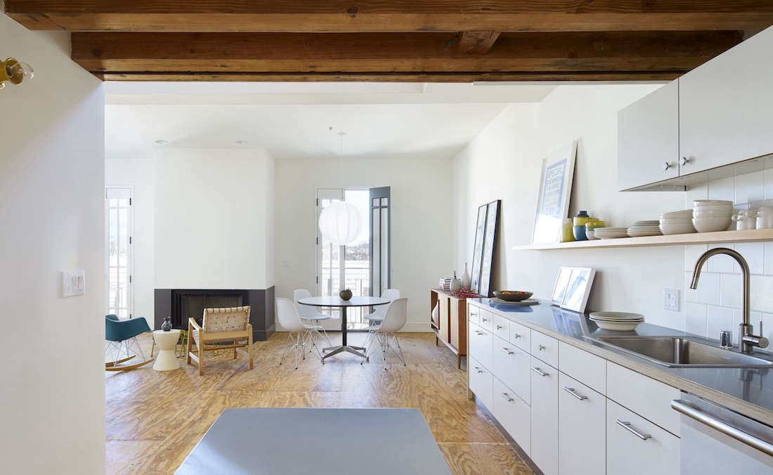 Loft Rental Kitchen In LA By Oonagh Ryan Architects   Remodelista