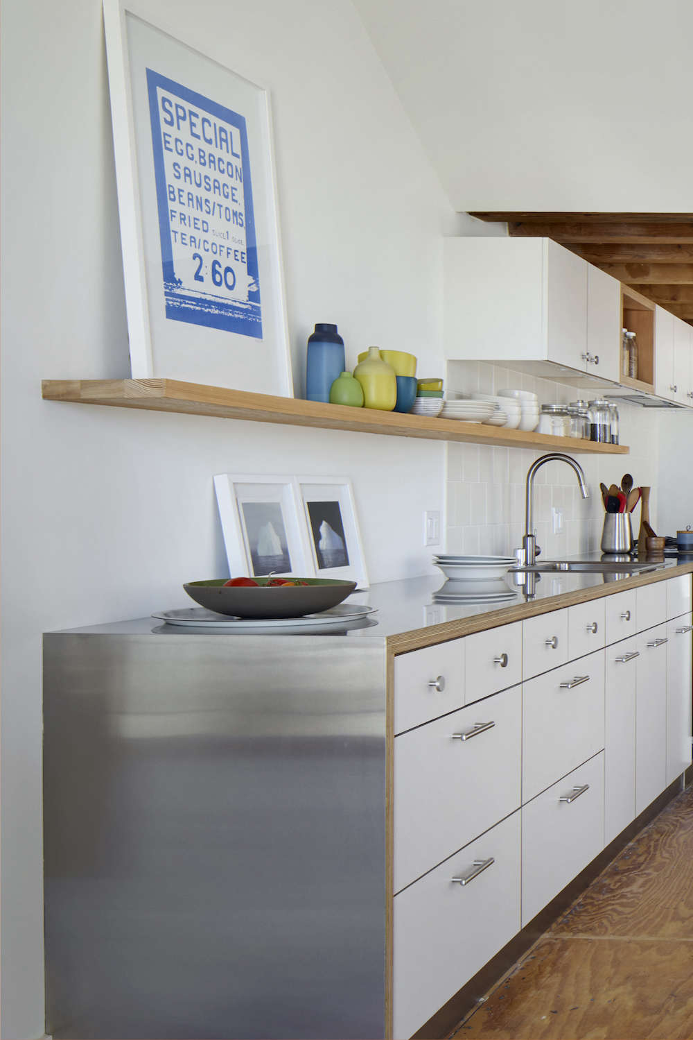 Remodeling 101: Stainless Steel Countertops | Remodelista ...