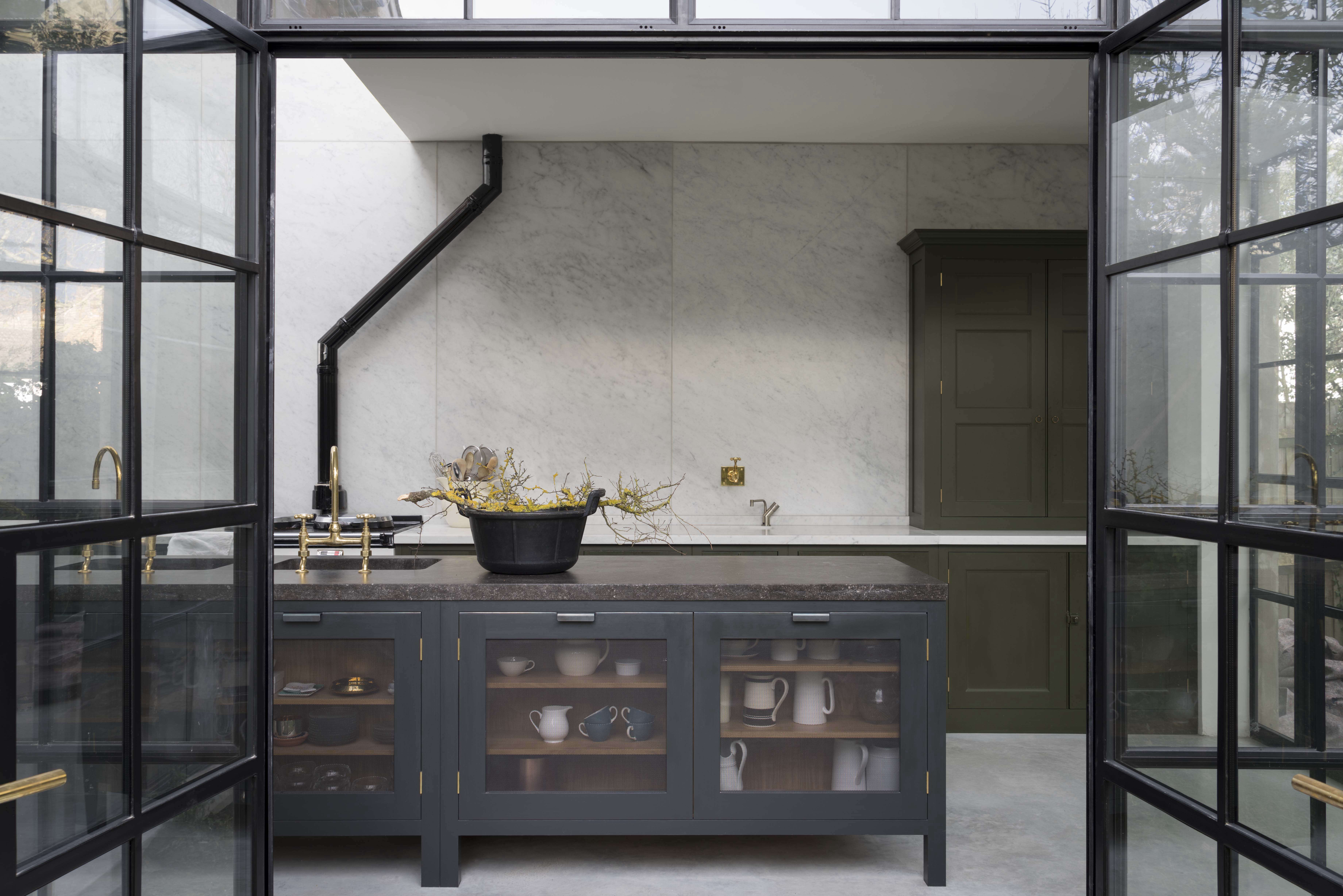 steal this look: a subtly glamorous kitchen in north london