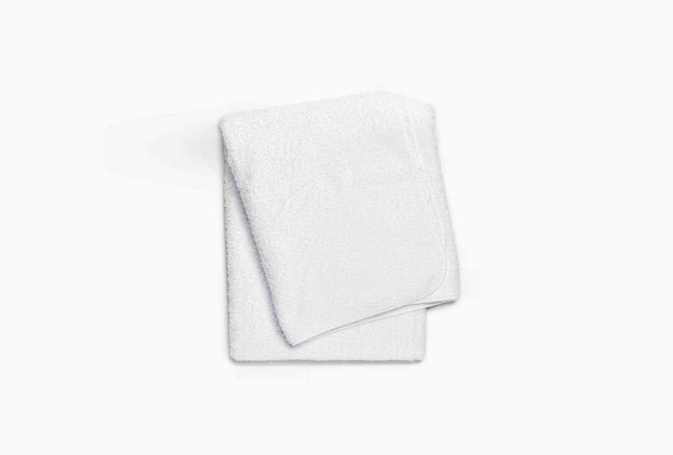 Abyss & Habidecor White Bath Sheet