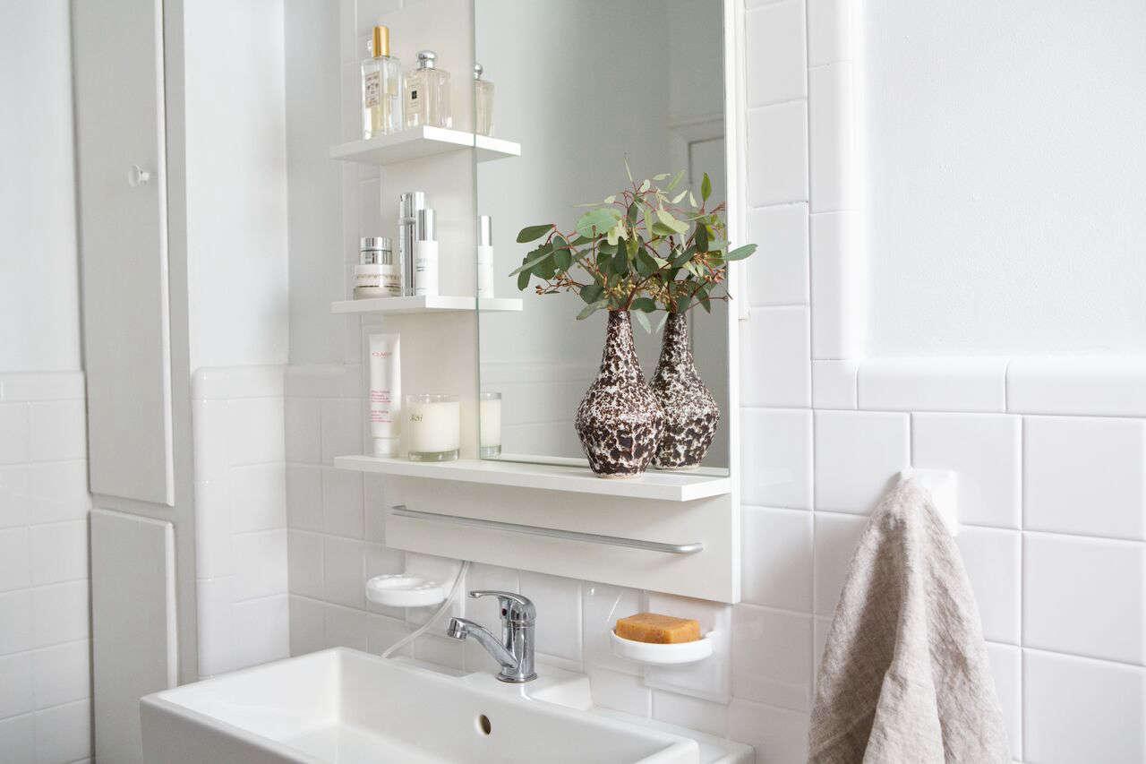 the refreshed bathroom - Bathroom Remodeling Brooklyn