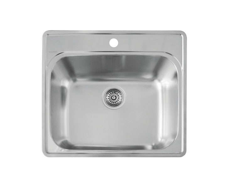 Drop In Stainless Steel Utility Sink : drop-in-stainless-steel-utility-sink-gardenista