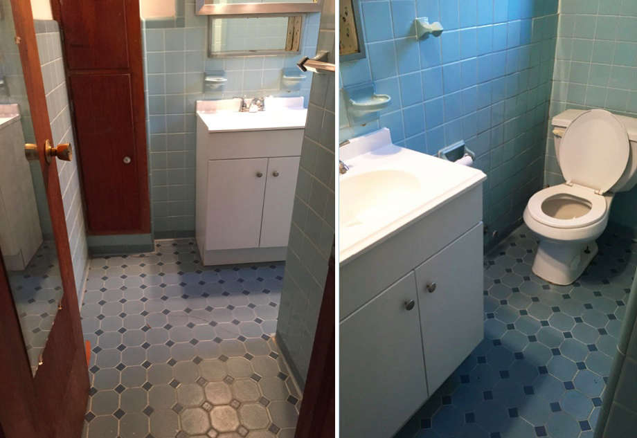 BeforeAfter A Perfectionists 1000 Bathroom Overhaul in