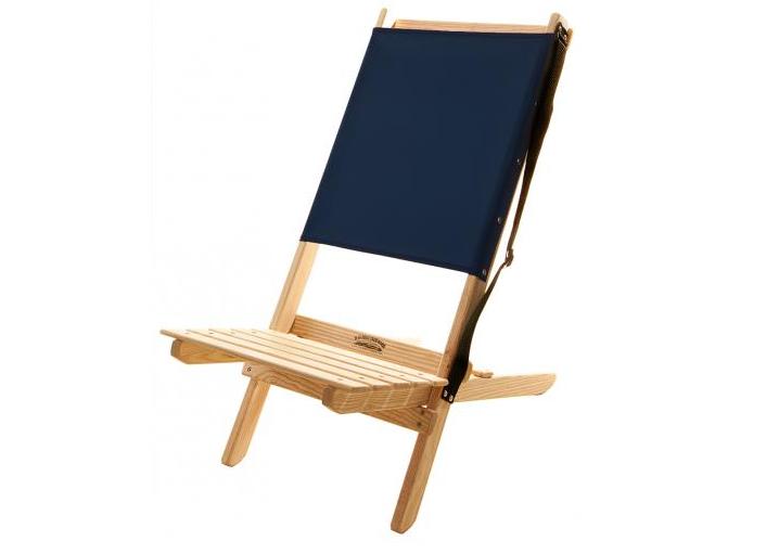 Object of Desire Folding Canvas Beach Chair Gardenista