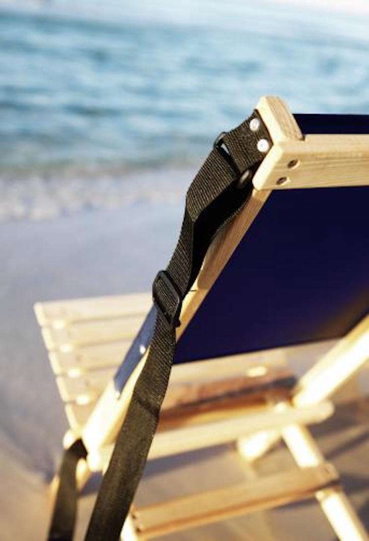 Object Of Desire Folding Canvas Beach Chair Gardenista