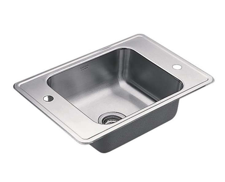 24 Utility Sink : Above: From Moen, a 24-inch stainless steel Utility Sink with a 7-inch ...
