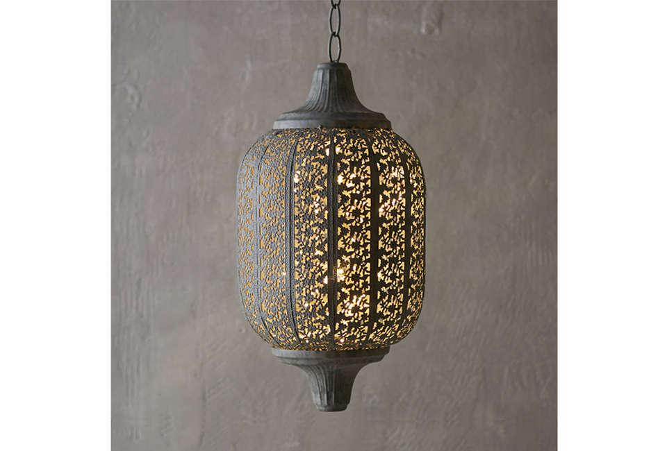 Terrain Garden Lace Oval Lantern